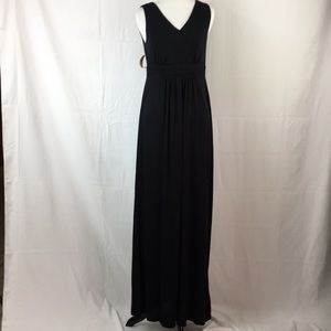 Coldwater Creek Black maxi dress size XS NWT